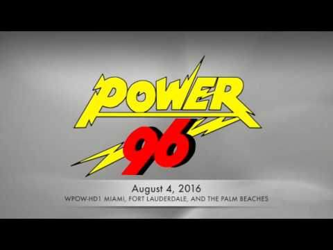 WPOW Power 96 Celebrates 30 Years On The Air In Miami!