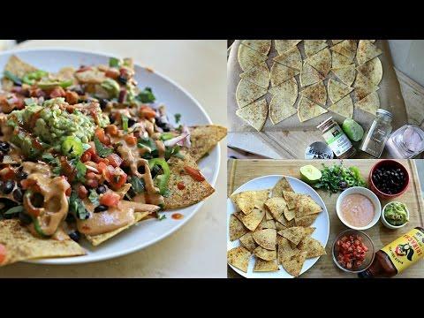 Epic Low Fat Vegan Nachos – Badass Vegan Kitchen