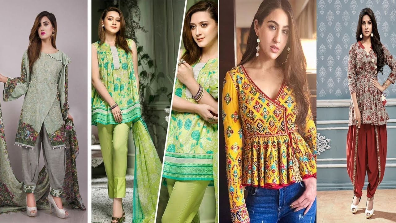 53d158a9d9 STYLISH PAKISTANI SHORT FROCK DESIGNS FOR GIRLS 2019 NEW DESIGNS||STYLISH  DESIGN||SHORT FROCK