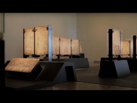 A Silk Road Saga - Installing a 6th Century Sarcophagus