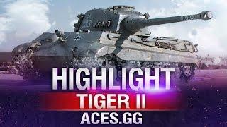 Королевский Тигр [Тигр-2] в World of Tanks на карте Хайвей в WoT