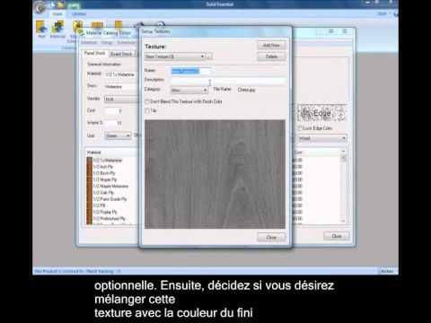 Solid Essentiel Catalogue des pièces et matériaux - France