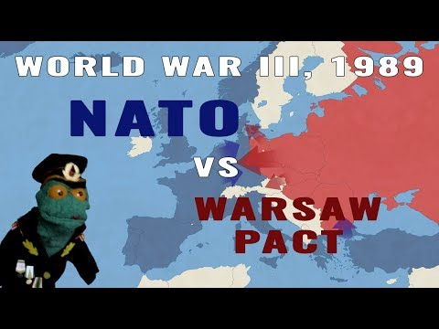 World War III, 1989: NATO vs Warsaw Pact