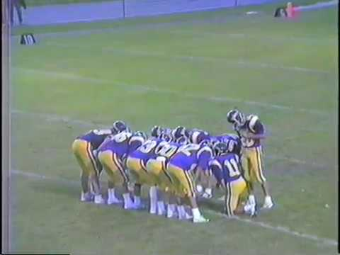 1988 Luxemburg-Casco at Sheboygan Falls High School Football Game