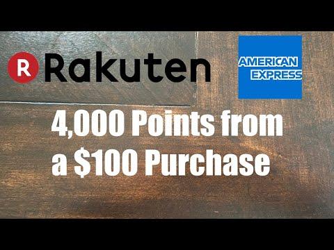 Use Rakuten With Amex Redeem Massive Amounts Of MR Points!!