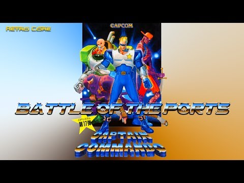Battle of the Ports - Captain Commando (キャプテンコマンドー) Show #179 - 60fps