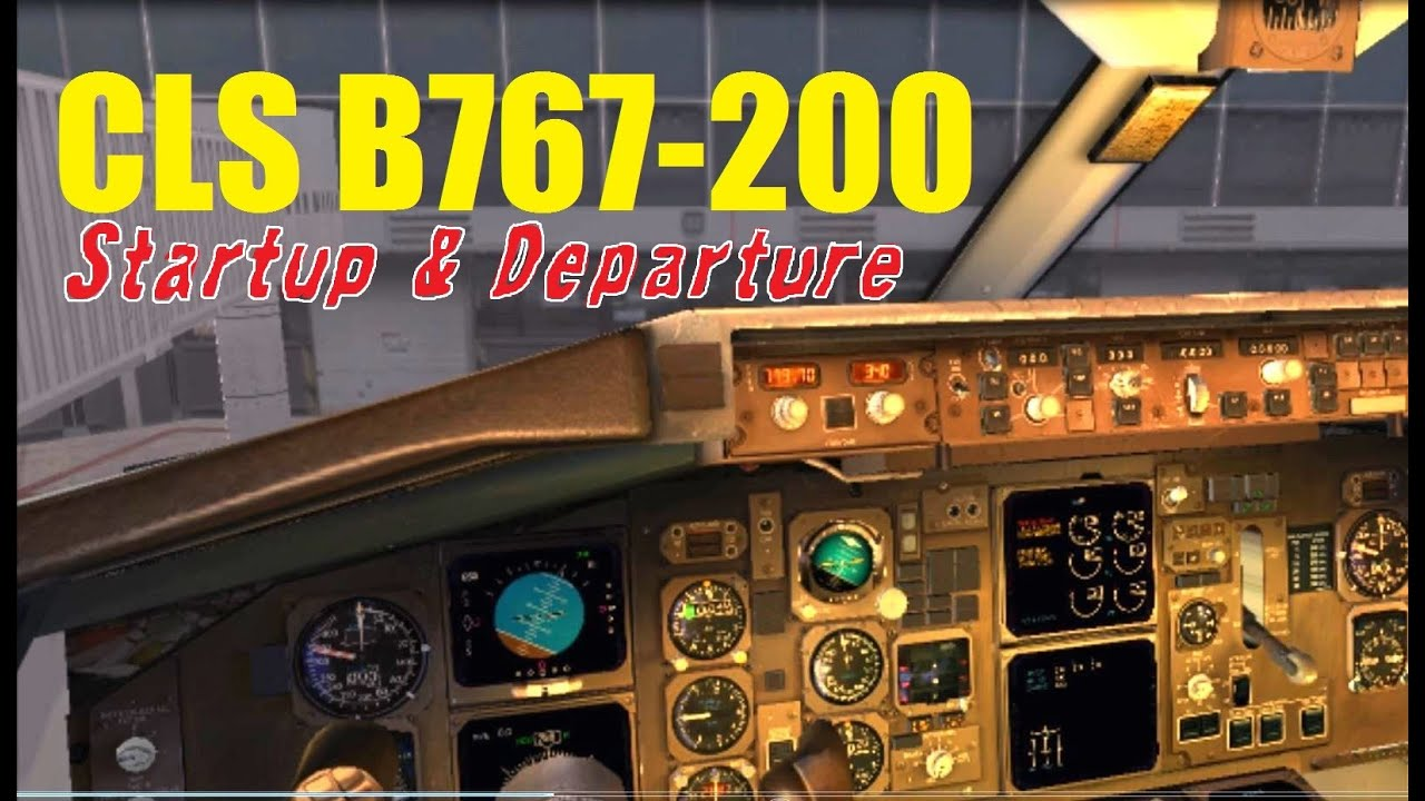 VATSIM: CLS 767 Full Start-up & Departure with ATC | Philadelphia Int'l  (FSX)