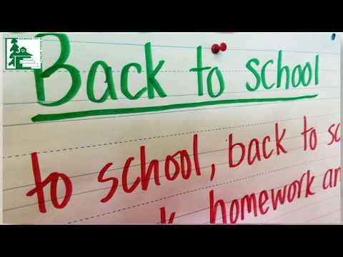 Taft Elementary Students Go Back to School
