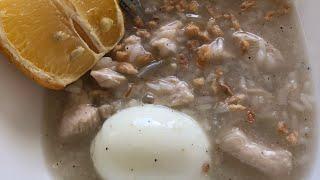 How to cook Arroz Caldo(recipe is in description)