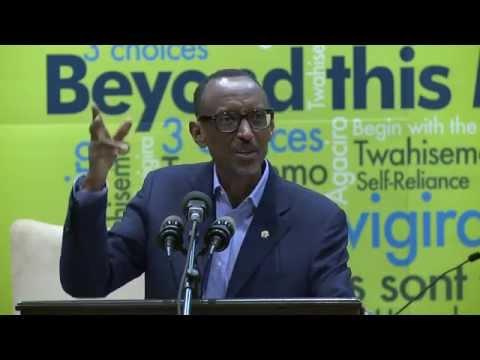 President Kagame speaks at Imbuto Foundation Youth Forum- Kigali, 14 Dec 2014 (part 1/2)