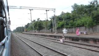 TRIVANDRUM SWARNA JAYANTI EXPRESS SKIPS PERINAD NEAR KOLLAM JUNCTION , KERALA