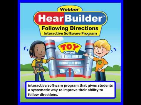 Webber® HearBuilder™ Following Directions by Mark Strait and Susie Loraine