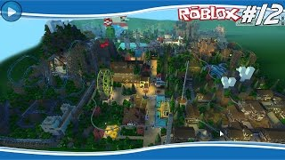 BIGGEST AMUSEMENT PARK EVER? -ROBLOX THEMEPARK #12