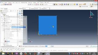 hole in pressure vessel with Abaqus (part 1)