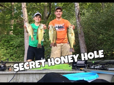 Fishing On A Secret Lake In West Virginia (Jon Boat Mission)