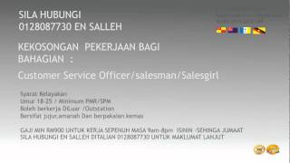 Jawatan Kosong  Malaysia