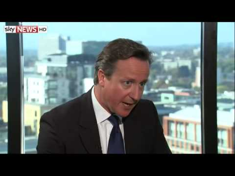 David Cameron On NHS, The Economy, UKIP & Youth Voting