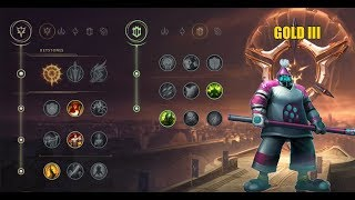 League of legends - Новые Руны: Джакс/New Runes: Jax #1