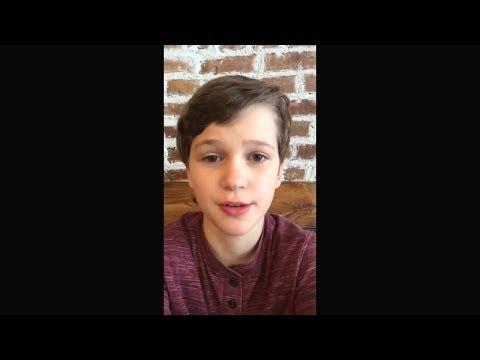 Gabriel Bateman Instagram live stream  26 August 2017