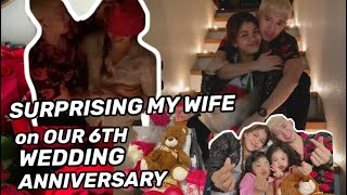 SURPRISING MY WIFE ON OUR 6TH YR ANNIVERSARY + A BIG SECRET PLACE