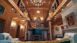 Шикарный дом из бруса 450кв.м. Обзор и рассказ о доме и строительстве. Палекс-Строй