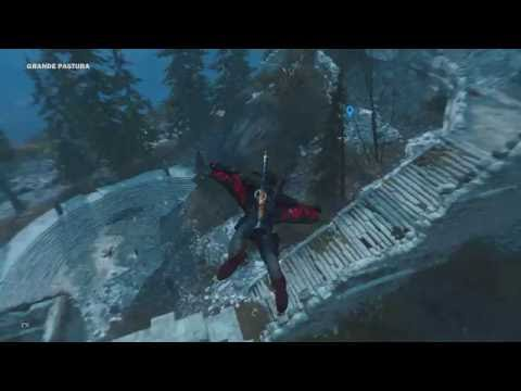 Just Cause 3 Easter Egg... WEEPING ANGELS!!!