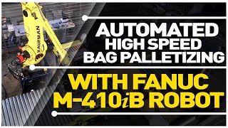 High Speed Bag Palletizing System, Courtesy of Kaufman Engineered Systems