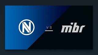 CS:GO - EnVyUs vs. MIBR [Mirage] Map 2 - NA Matchday 8 - ESL Pro League Season 8