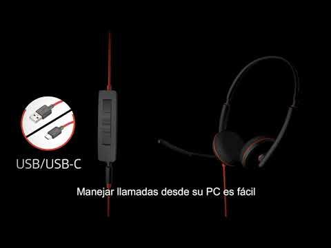 Blackwire 3200 Series - How To Video - Español