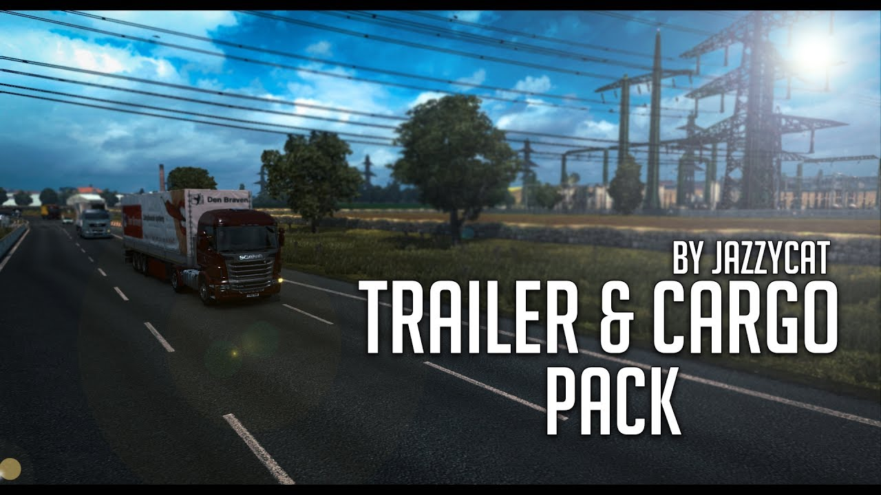 Trailers and Cargo Pack by Jazzycat v 5 2 | Euro Truck Simulator 2 (ETS2  1 27 Mod)