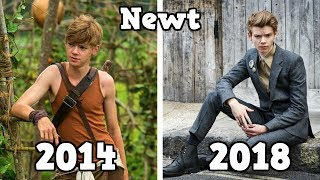 The Maze Runner Before and After 2018