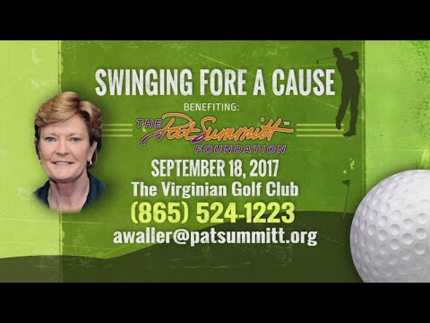 Pat Summit Foundation holding golf tournament at The Virginian Sept. 18th