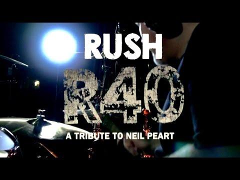 RUSH | R40 | NEIL PEART | DRUM TRIBUTE | DRUM COVER | JOEL STEVENETT