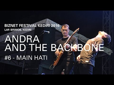 Biznet Festival Kediri 2016 : Andra and The Backbone - Main Hati