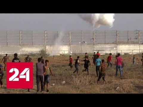 Израиль вновь нанес удары по сектору Газа - Россия 24