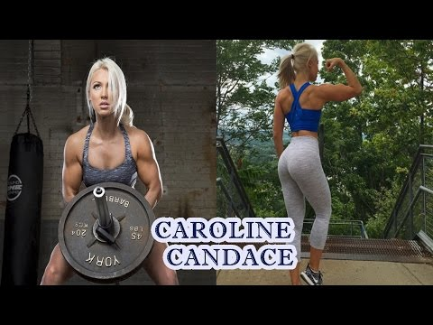 Caroline Candance – Sexy Fitness Model / Hardcore Fitness Training