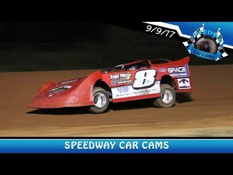 #8 Jeff Helms - Sportsman - 9-9-17 Fort Payne Motor Speedway - In Car Camera