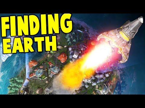 Finding Earth - BUILD YOUR PLANET + CIVILIZATION, EXPLORE THE GALAXY - Finding Earth Gameplay