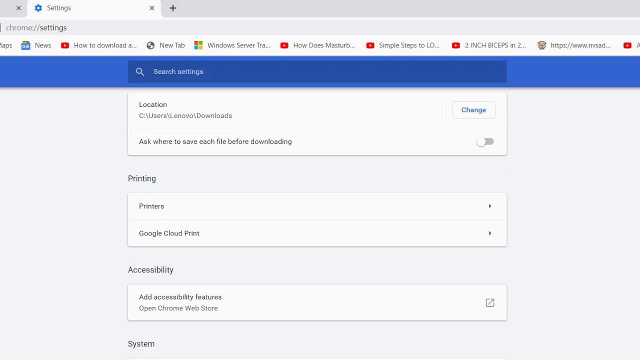Google Proxy Server settings - YouTube