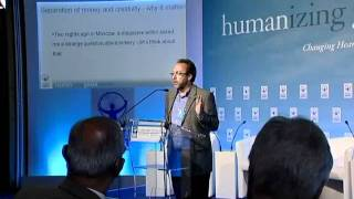 Jimmy Wales LIVE talk at Zermattt Summit 2011 - Alternative Business Models to serve the Common Good