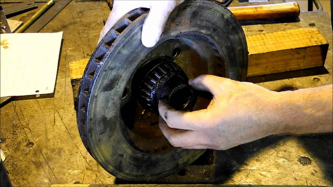 1975 Dodge Power Wagon Front Rotor Replacement - YouTube