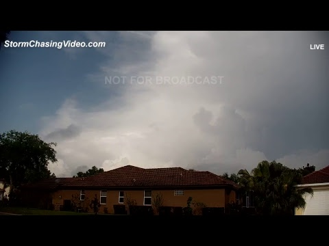 LIVE Florida Tornado Watch - March 20, 2018