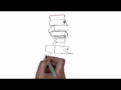 How To Draw Stack Of Books
