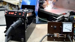 SSVA-180P - тонкий металл(На видео показа работа SSVA-180P в режиме полуавтомата проволокой 0.8 мм Купить SSVA-180P Вы можете здесь - http://svarka-khark..., 2015-02-28T10:46:08.000Z)