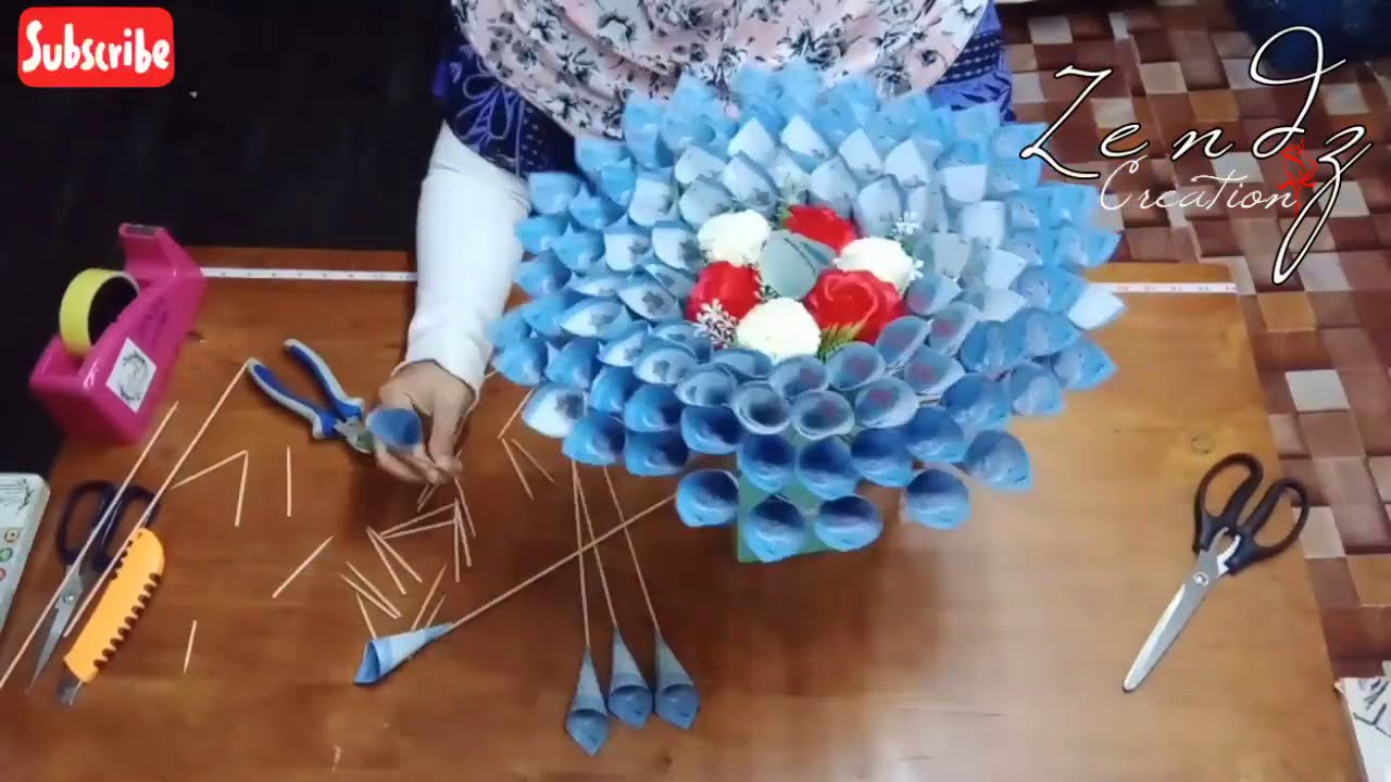 Bouquet Duit Money Bouquet Tukar Ke Playback Speed 0 25x Youtube