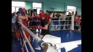 """""""Открытый ринг"""" по боксу, клуб """"Китэк"""", 72кг. Мой второй бой (my second boxing fight)."""
