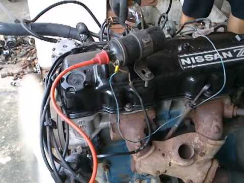 nissan z20 youtube rh youtube com Nissan Z24 Engine Parts 1986 Nissan Pickup Z24 Engine