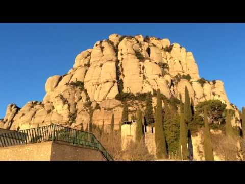 Winter in Montserrat in January 2017 near Barcelona, Catalonia, Spain #barcelona #spain