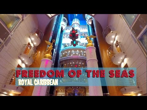 Royal Caribbean Freedom of the Seas Ship Tour pt 1