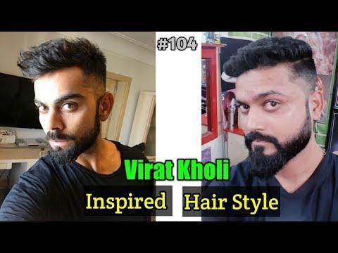 Virat Kohli Hairstyle Inspired Haircut 2019 - Men's Hairstyles & Haircuts Indian men Hairstyle #104